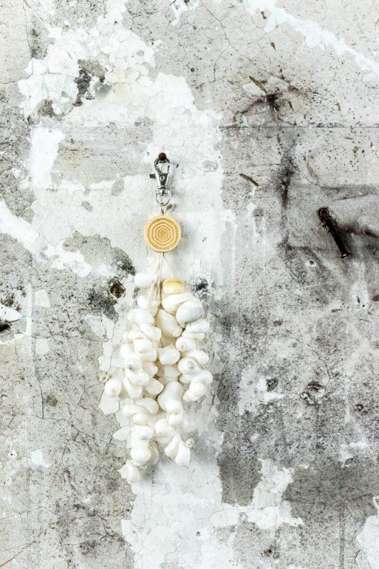 keyring shells, keyring shelpen, sleutelhanger schelpen