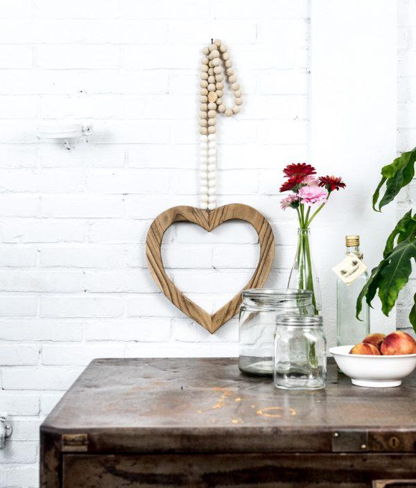 houten hart, houten hart madumadu, houten hart woonketting